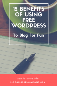 using free wordpress